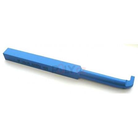 Soustružnický nůž HSS zapichovací vnitřní 10x10x150, 223552